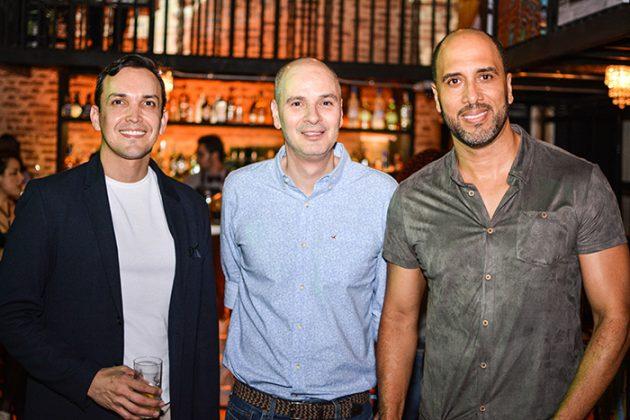 Carlos Castilla, Jorge Garcés y Alonso Albear
