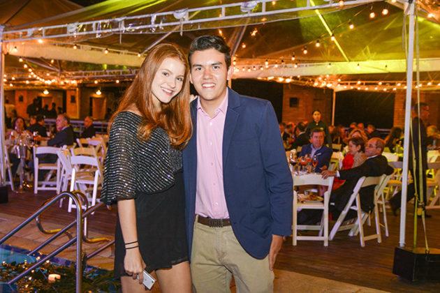 Catalina Caicedo y Juan Pablo Rivera