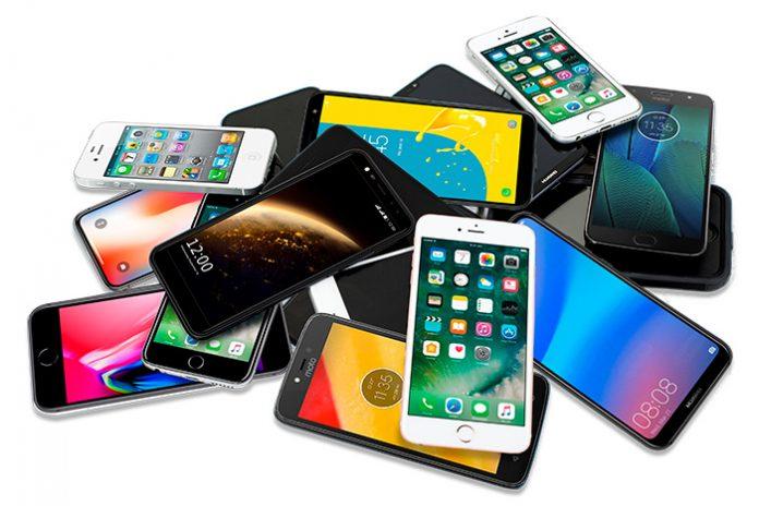 celulares en bancos