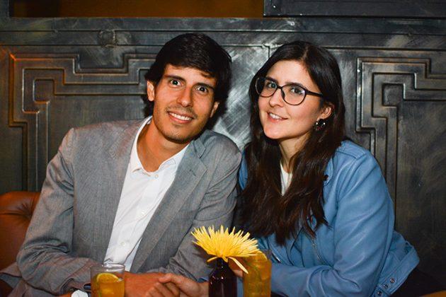 Daniel Gutiérrez y Elisa Echeverri