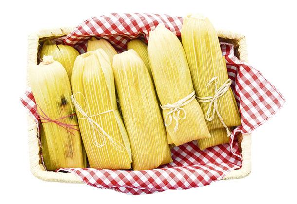 Envueltos de maíz