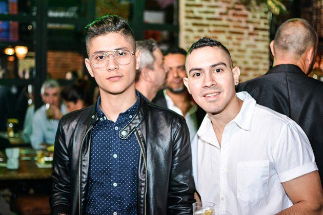 Gabriel Henao y Daniel Rojas