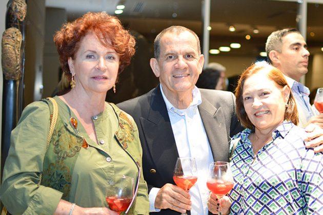 Gabriela Vieira, Carlos Ospina y Carmeza Gutiérrez