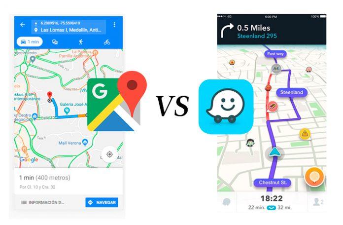 Google Maps Vs Waze Cual Lo Guia Mejor Periodico Vivir En El