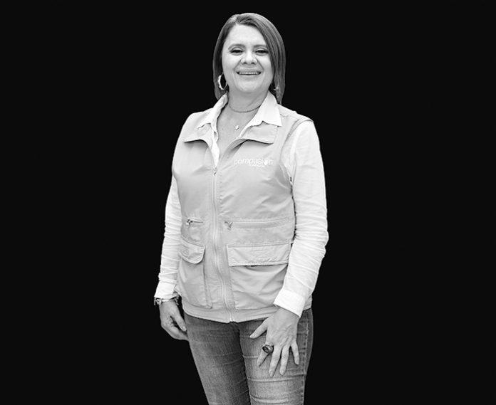 Isabel Cristina Bouhot es el motor de la Fundación Compasión
