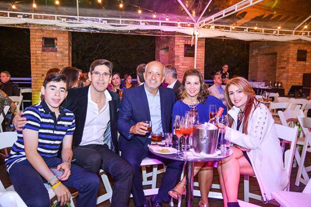 Juan Andrés Sánchez, Juan Sánchez, Luis Fernando Saldarriaga, Diana María Sánchez y María Sánchez