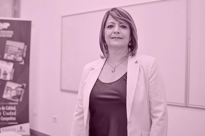 Maria Victoria Mejía, rectora del ITM.
