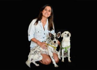 Nieve, la perrita de Natalia Echeverri, fue la primera en firmar en la Huellatón. Hoy la invitación es a que todos pongamos un granito de arena.