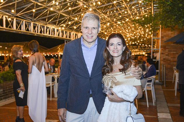 Pablo Upegui y Diana Gómez