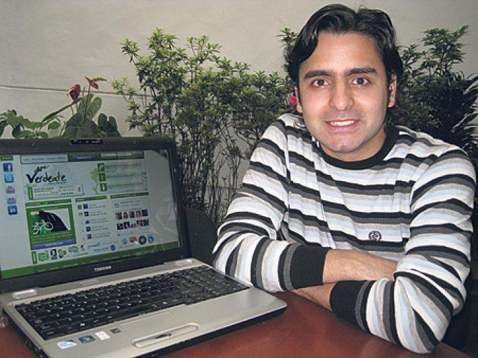 Sebastián Bustamante, director general de Verdeate.com