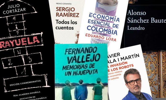 Libros para antojarse este mes: La obra reciente de Fernando Vallejo, una alegoría vallenata de Sánchez Baute, un manual útil de Economía de Eduardo Lora.