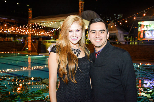 Susana Vasquez y Alex Urrea