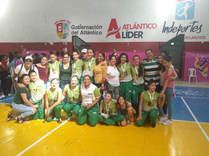 San José de Las Vegas, campeón nacional Intercolegiado prejuvneil de voleibol (Foto Colegio San José de Las Vegas)