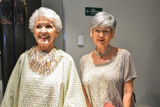 Ángela Escobar de Isaza y Ana Cecilia del Corral