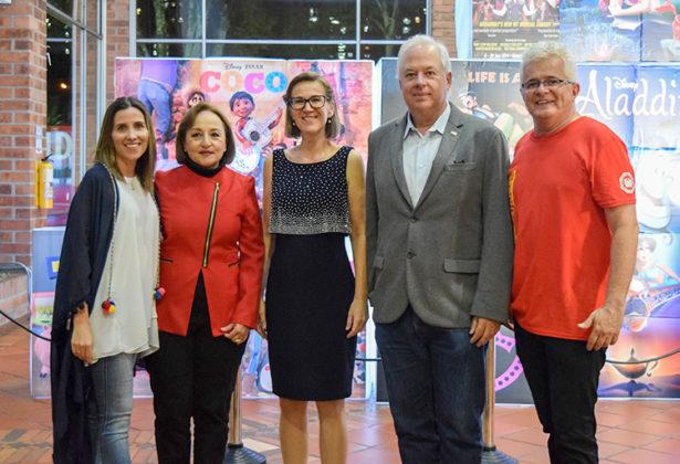 Colegio Alemán Medellín se unieron para celebrar una noche alrededor de la música en el Teatro de la Universidad de Medellín en la Musiknacht.