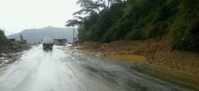 Vía hacia Santa Fe de Antioquia