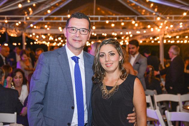 Gabriel Hencker y Jenny Murcia