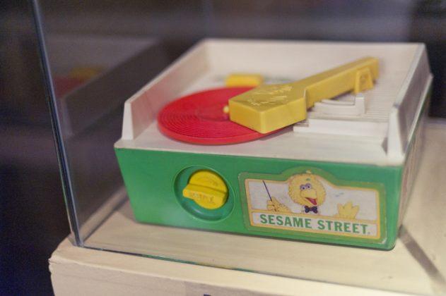 Exposición juguetes con memoria