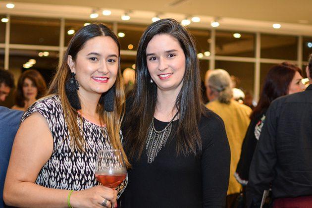 Laura Cordiba y Sara Palacio