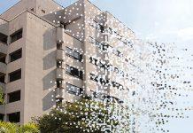 implosión de el edificio Mónaco.