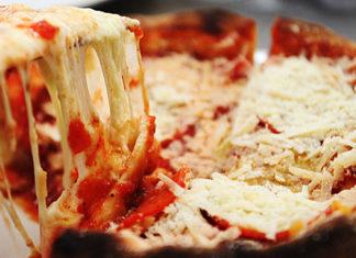 Pizzas rellenas