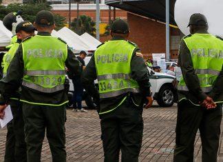 Policía en EL Poblado