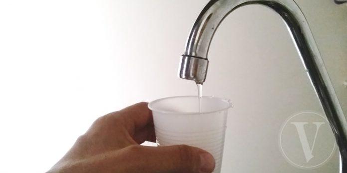 Corte de agua