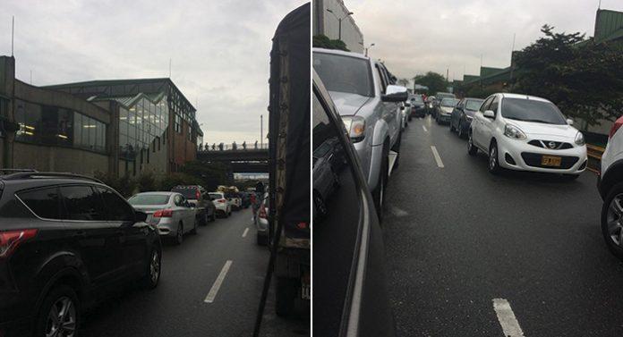 Congestión vehicular en el Regional